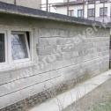 Naprawa popękanych ścian garażu z pustaka z wykorzystaniem profili śrubowych firmy Brutt Saver.