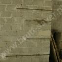 Przykład naprawy muru (narożnika) z zastosowaniem Brutt Technologies wykonanej z pełnych bloczków betonowych.