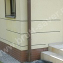 Naprawa murów - wzmocnienie narożnika z wykorzystaniem Saver Profili Brutt'a.