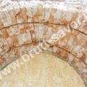 Wzmocnienie pękniętego łuku z cegły z wykorzystaniem Saver Profili - nierdzewnych profili śrubowych firmy Brutt Saver (CPSI)